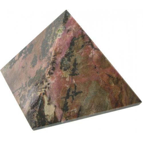 Пирамида из родонита